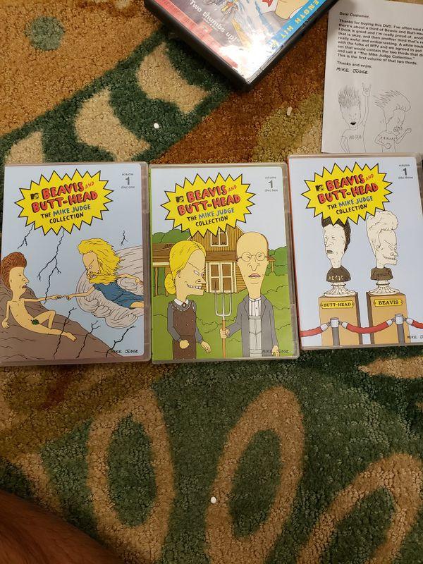 Beavis and Butt-head DVDs