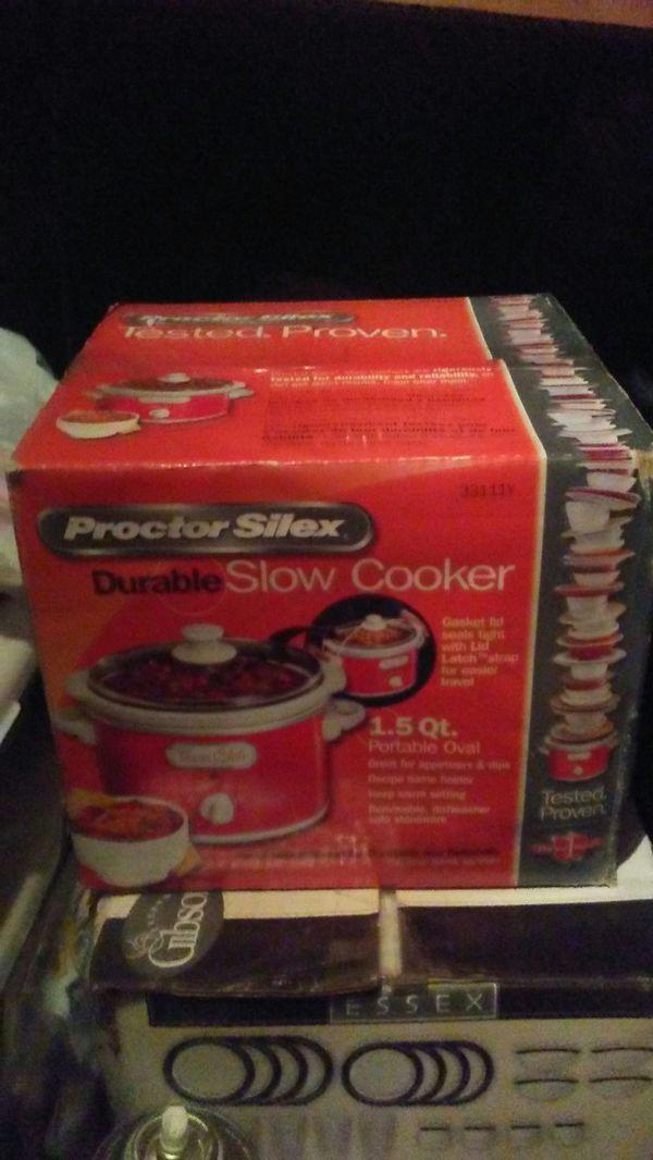 NEW! Proctor Silex Crock Pot