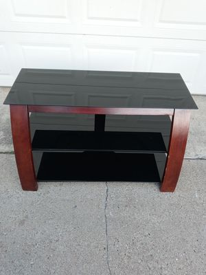 Glass TV Stand for Sale in Fort Worth, TX