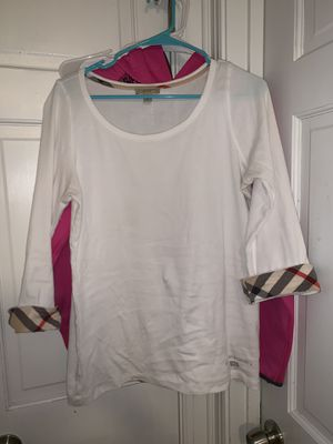 Woman's XL Burberry top for Sale in Raleigh, NC