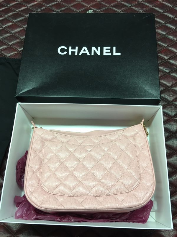Chanel Camera Hobo Timeless Quilted Classic Mini Medium Sac Pochette Pink Caviar Leather Shoulder Bag