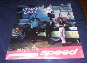 Built for Speed Stray Cats Vinyl LP for Sale in Montclair, CA