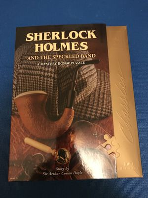 Complete Sherlock Holmes puzzle game for Sale in San Francisco, CA