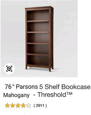 5 Shelf Closed Bookcase. STILL IN BOX for Sale in Hillside, IL