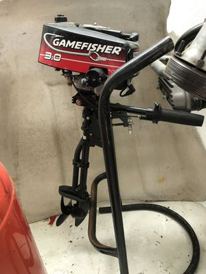 Gamefisher 3.0 two stroke outboard motor for Sale in Corona, CA