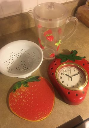 Strawberry Kitchen Items for Sale in Safety Harbor, FL