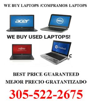 We Buy Any Laptop Best Price Guaranteed for Sale in Hialeah, FL