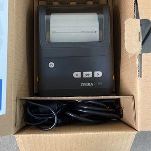 Zebra Thermal Printer ZD420 for Sale in Rancho Cucamonga, CA
