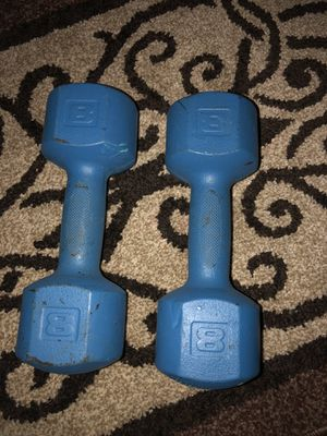 8lb dumbbell set for Sale in Richmond, CA