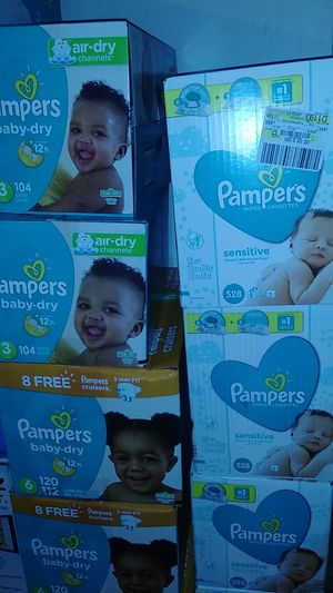 Pampers 20 and wipes 7 for Sale in Philadelphia, PA
