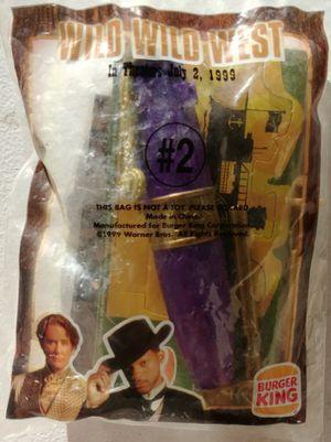 PEN Wild Wild West Burger King toy 1999 SEALED for Sale in Las Vegas, NV