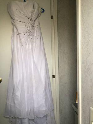 White wedding dress for Sale in Corona, CA