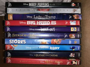 Varieties 10 DVD Total No Holds for Sale in Richwood, TX