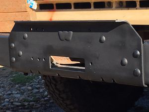 Warn Winch Bumper for Sale in Portland, OR