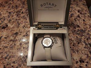 Ladies Rotary Rocks White Leather Watch RLS00033/07 for Sale in Marietta, GA