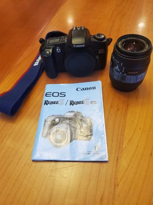 Canon EOS Rebel G Film Camera with 28-90mm Lens for Sale in Duluth, GA