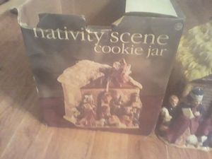 Old Nativity scene cookie jar open with box but like new $50 for Sale in Hilliard, OH