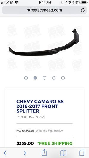 Camaro SS front splitter. Street Scene, perfect condition/never opened. for Sale in Portland, OR