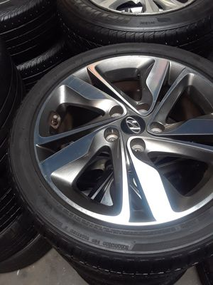 Sonata rims sonata Wheels Elantra rims Elantra Wheels Genesis rims Genesis wheels Veloster rims Veloster Wheels Hyundai rims Hyundai Wheels for Sale in Fullerton, CA