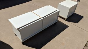 Ikea Besta TV Stand Cabinet White for Sale in Scottsdale, AZ