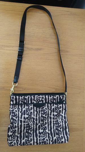 Coach Signature Crossbody Handbag Purse F31686 Leopard for Sale in North Potomac, MD