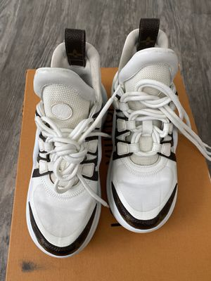 Louis Vuitton LV Archlight Sneakers Lace Up Trainer Shoe 35 Brown US 5 for Sale in Washington, DC