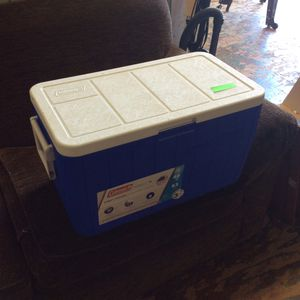 Coleman 63 Can Chest Cooler for Sale in Bellingham, MA