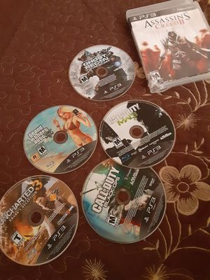 Ps3 games good condition for Sale in Las Vegas, NV