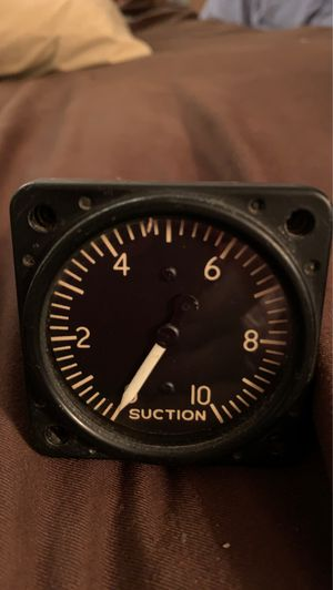Aircraft EXPERIMENTAL SUCTION GAUGE F-4 for Sale in Henderson, NV