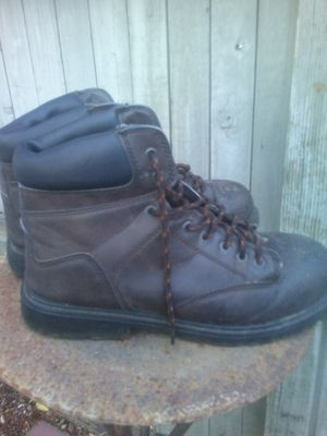 Steel toe work boots liking you for Sale in Glendale, AZ