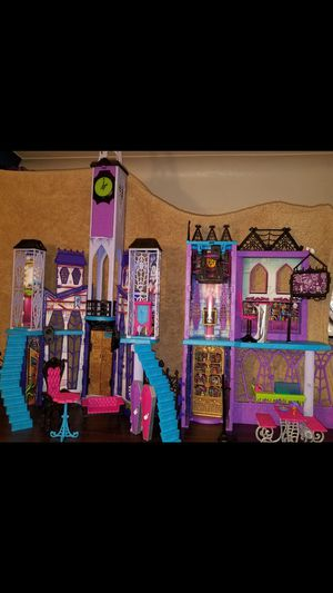 Monster High Deluxe doll High School house for Sale for sale  Toledo, OH