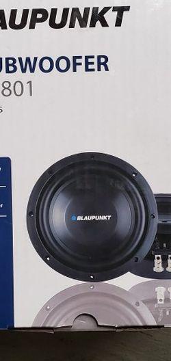 """8 Blaupunkt 400w Subwoofer for Sale in Newark,  CA"