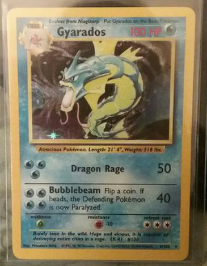 Pokemon Card - Holographic Gyarados for Sale in Mead, WA