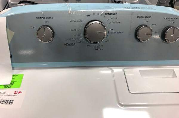 Whirlpool Washer/Dryer Set PV