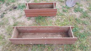Big resin planters for your flowers vegetables pots planteros de plastico muy fuerte for Sale in Corona, CA