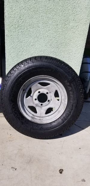 "trailer rim and tire 215/75/14"" for Sale in Vernon, CA"
