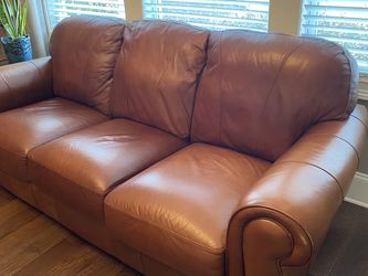 Leather Sofa And Matching Leather Recliner for Sale in Canton,  GA