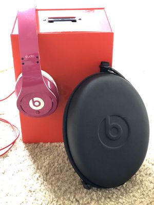 Beats by Dr. Dre - Beats Studio Over-the-Ear Headphones - Pink for Sale in Greensboro, NC