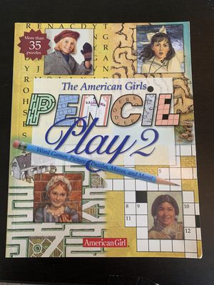 American Girl Pencil Play Book -Games Puzzles etc for Sale in Dahlonega, GA