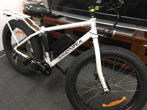 SSR Sand Viper Electric Assist Fat Bike Mountain Bicycle for Sale in Gaithersburg, MD