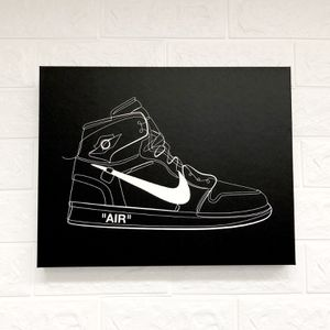 "Air Jordan 1 ""Off-White"" Canvas Wall Art for Sale in Los Angeles, CA"