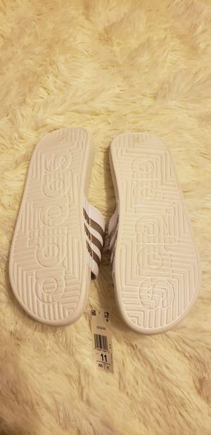 Adidas men slides for Sale in San Angelo, TX