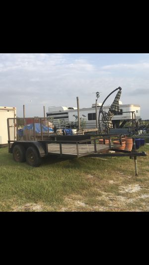 Flat bed trailer for Sale in Houston, TX
