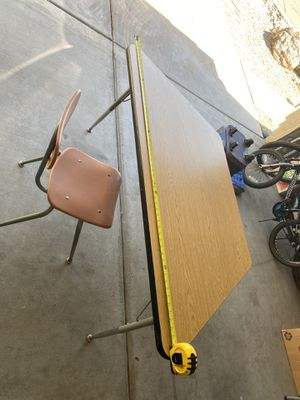 Kids table and chair for Sale in Phoenix, AZ