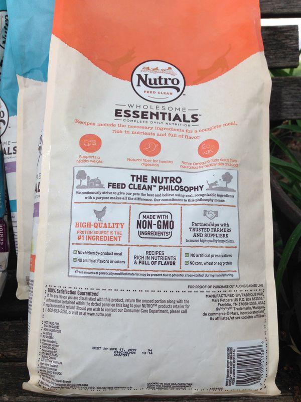 Dry cat food Nutro Essentials Indoor Adult
