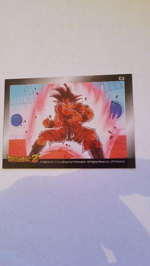 Goku ClearChrome Secret Rare C3 Dragonball Z looks perfect for Sale in Miami, FL