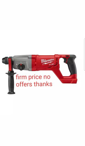 "Milwaukee 2713-20 M18 18V Cordless FUEL 1"" SDS-Plus Rotary Hammer (Tool Only) battery or charger not included for Sale in Upper Marlboro, MD"