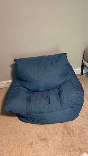 Puffy foam/beanbag chair for Sale in Hatfield, PA