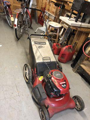 Craftsman lawnmower for Sale in East Bridgewater, MA