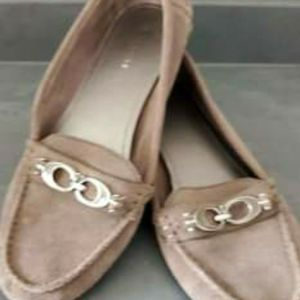 Coach Fortunata Canvas Loafers & Moccasins Grey Leather for Sale in Winston-Salem, NC